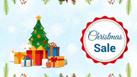 Christmas Sale After Effects Template