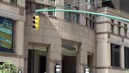 New York City 758 Manhattan 8th Avenue One Worldwide Plaza stock footage