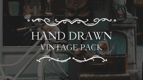Hand Drawn Vintage Pack Premiere Proテンプレート