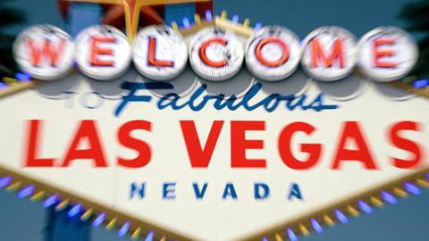 Las Vegas Sign - Daytime Centered Crash Zoom Animation