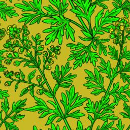wormwood vector pattern Vector