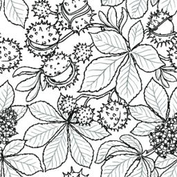 chestnut vector pattern Vector