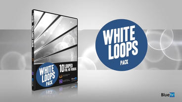 10 White Loops After Effects Template