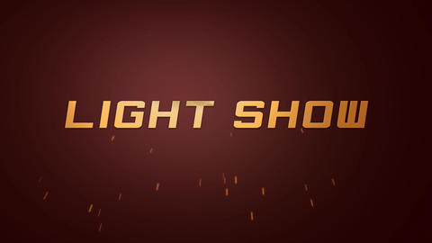 Light Show - Free File After Effects Template