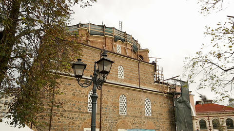 Reconstruction of Banya Bashi Mosque in Sofia, preservation of cultural sight Live Action