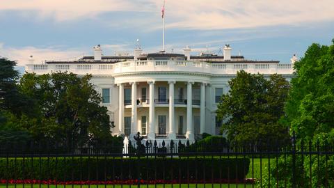 WASHINGTON, DC, USA - The south of the White House Footage