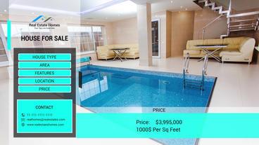 Real Estates Presentaion 애프터 이펙트 템플릿