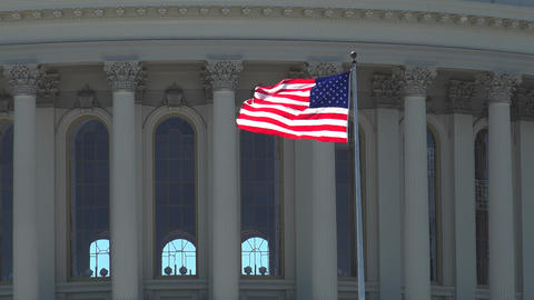 WASHINGTON, DC, USA, The U S Capitol,often called the Capitol Building GIF