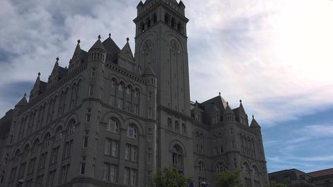 WASHINGTON DC, USA. Building at the Pennsylvania Avenue… Stock Video Footage