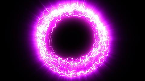 Electric portal purple Animation