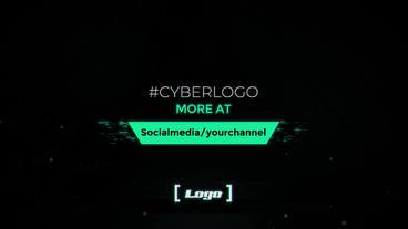 Cyber Logo Premiere Pro Template
