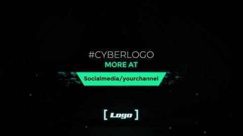 Cyber Logo Premiere Proテンプレート