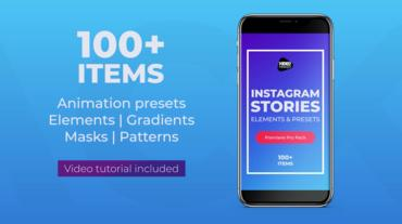 Instagram Stories Pack Premiere Proテンプレート