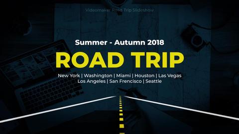 Road Trip Slideshow Premiere Pro Template