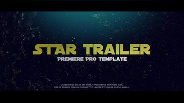 Star Trailer Premiere Pro Template