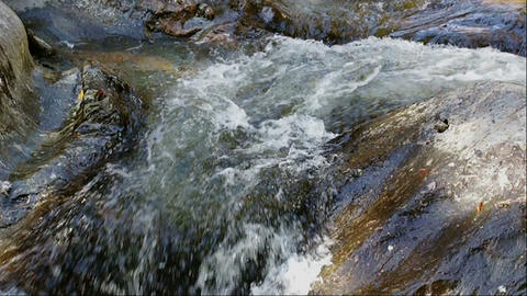 Water in slow motion Footage
