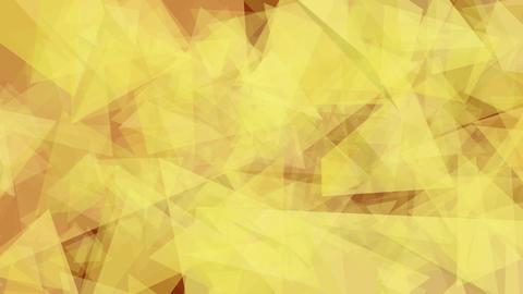 Orange Triangles Animation