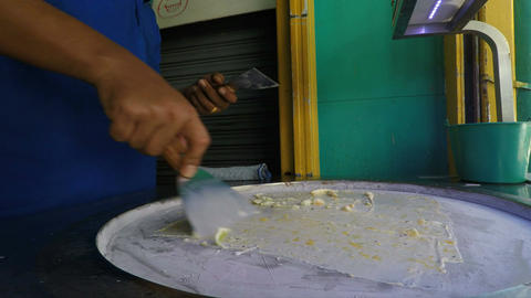 ice cream making Footage