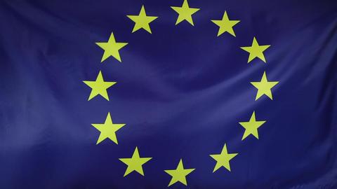 European Union flag Live Action