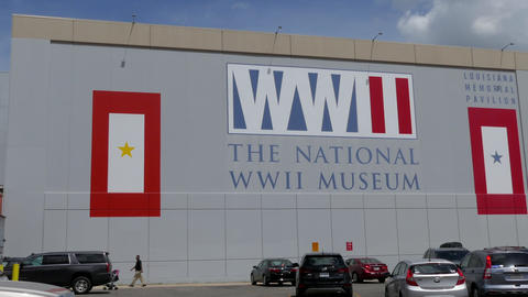 Exterior Of The National WWII Museum In New Orleans Louisiana GIF