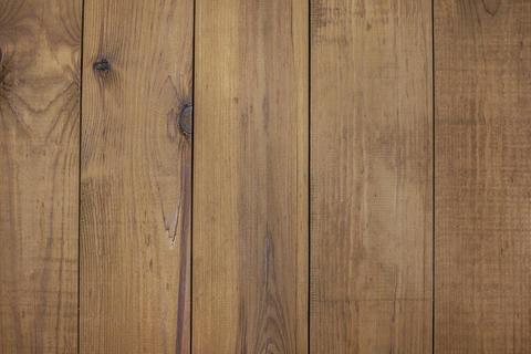Wooden floor with brown floor Board texture フォト