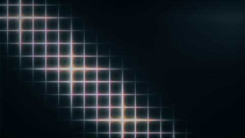 Retro Wave Shiny Grid VJ Loop Animation