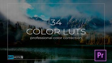 Color Luts Premiere Pro Template