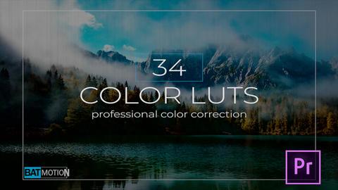 Color Luts Premiere Proテンプレート