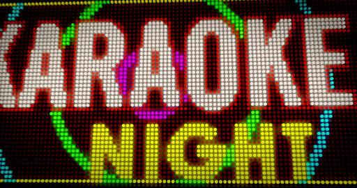 Karaoke night Animation