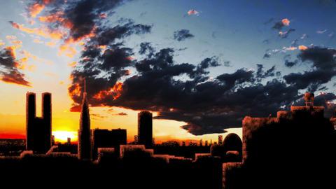 Sunset Tokyo Loop 2 Animation