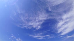 Soft clouds passing, time lapse Footage