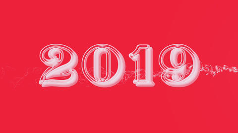 2019 with flare 1 Animation