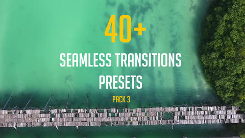 40+ Seamless Transitions Presets (pack 3) Premiere Pro Template