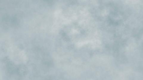 Smoke abstract. Smoke cloud. Smoke on black background in blue light. Smoke GIF