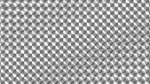ホログラムシートのテクスチャ(ループ可能)-チェック/加速あり/モノクロ CG動画