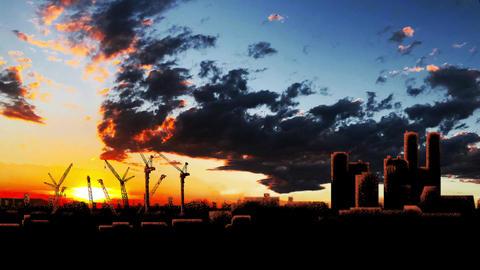 Sunset Tokyo Loop Animation