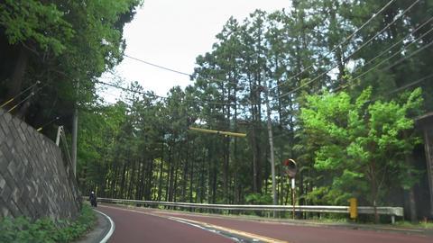 自動車からの主観移動映像 ビデオ