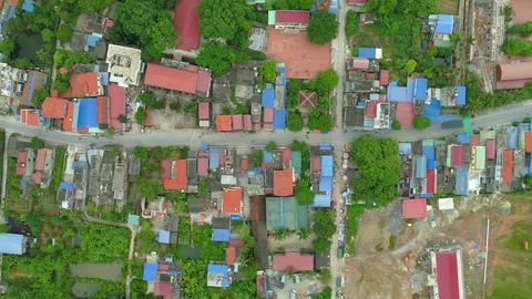 village at Tuyet Tinh Coc, Hai Phong, Vietnam Footage