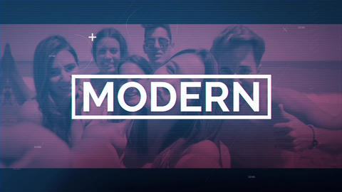 Modern Montage After Effects Template