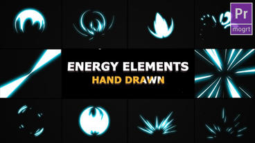 Energy Elements Motion Graphics Template