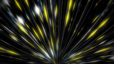 Sparkling Light Leaks Shining Silver Sparkles Rising Firework Flower VJ Loop Live Action