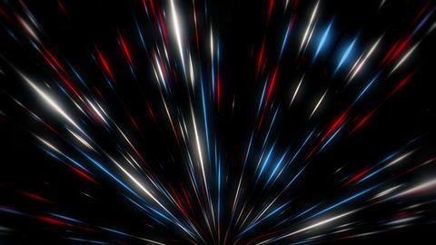 Rising Shining Light Leaking Sparkles Firework Flower VJ Loop Live Action