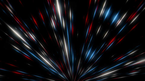 Rising Shining Light Leaking Sparkles Firework Flower VJ Loop Footage