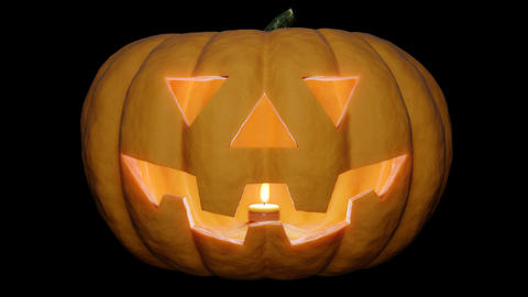 Halloween Pumpkin 01 Stock Video Footage