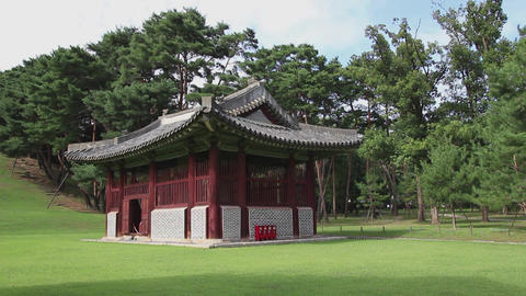 A royal tomb in Korea7 Footage
