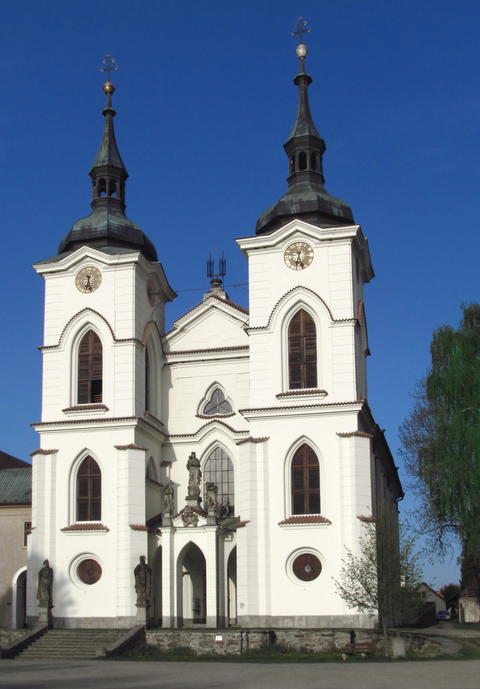 The Church of the Birth of the Virgin Mary in the small town of Zeliv, the Photo