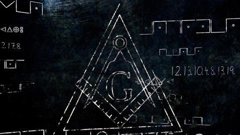 4K The Free Masonic Grand Lodge Sign v1 7 Animation