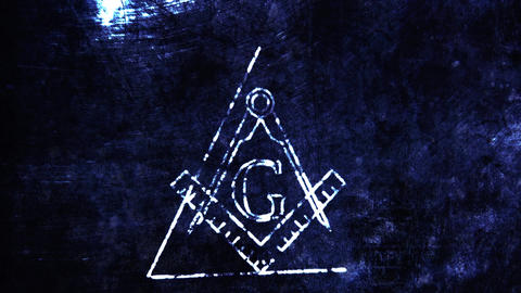 4K The Free Masonic Grand Lodge Sign v2 2 Animation