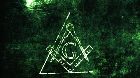 4K The Free Masonic Grand Lodge Sign v2 3 Animation
