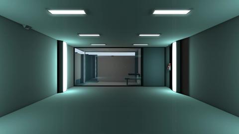 4K High Tech Super Criminal Prison Cell Lockup Scene v1 1 Animation
